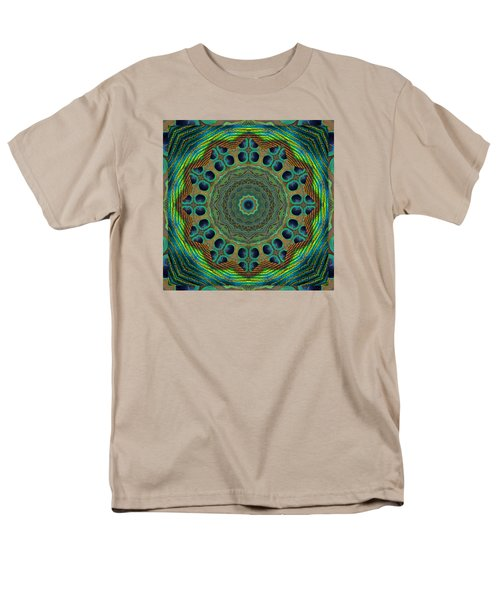 Men's T-Shirt  (Regular Fit) featuring the photograph Healing Mandala 19 by Bell And Todd