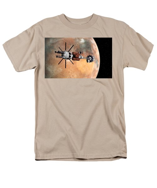 Hermes1 Mars Insertion Part 1 Men's T-Shirt  (Regular Fit) by David Robinson