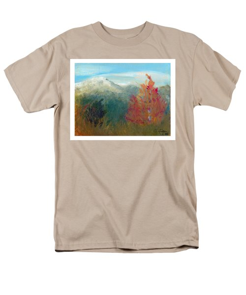 High Country View Men's T-Shirt  (Regular Fit) by C Sitton