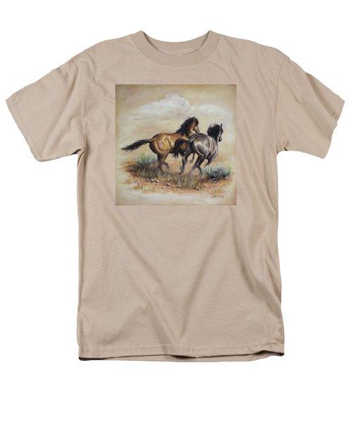 High Tailin' It Men's T-Shirt  (Regular Fit) by Kim Lockman