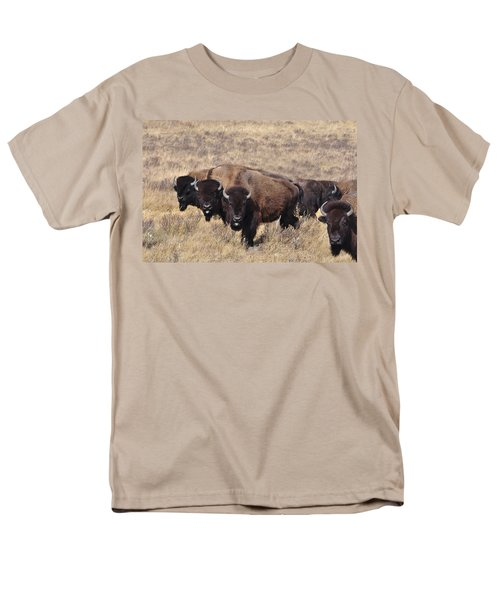 Men's T-Shirt  (Regular Fit) featuring the photograph Home On The Range by Fran Riley