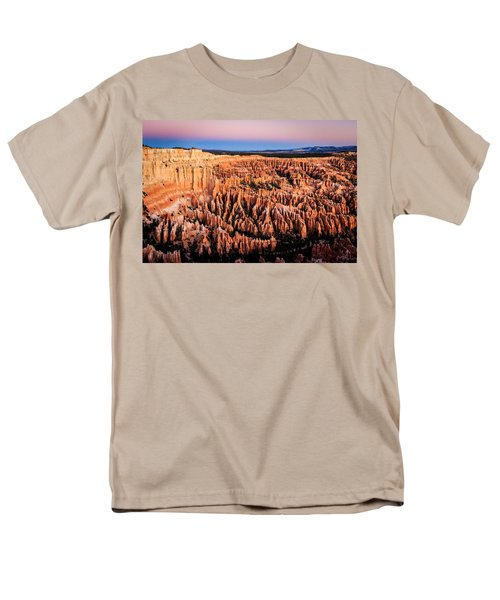 Men's T-Shirt  (Regular Fit) featuring the photograph Hoodoos At Sunrise by Peta Thames