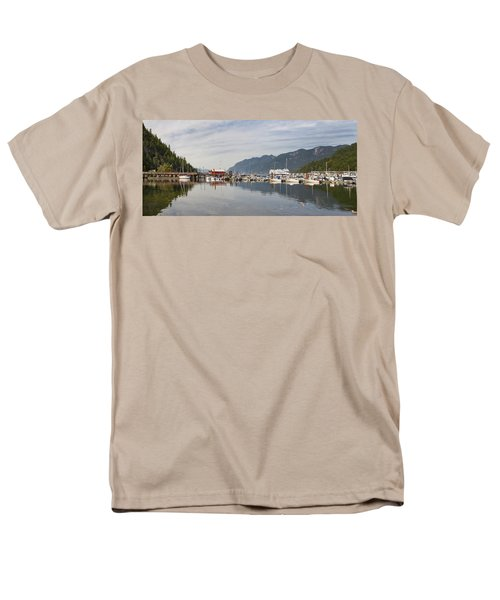 Men's T-Shirt  (Regular Fit) featuring the photograph Horseshoe Bay Vancouver Bc Canada by JPLDesigns
