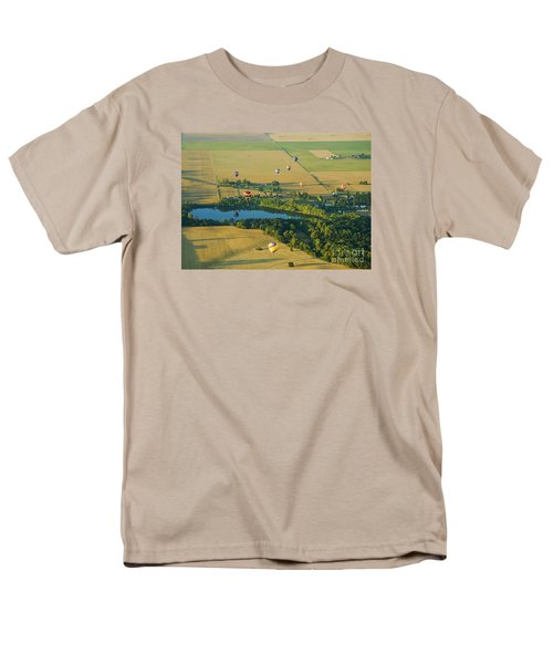 Men's T-Shirt  (Regular Fit) featuring the photograph Hot Air Reflection by Nick  Boren