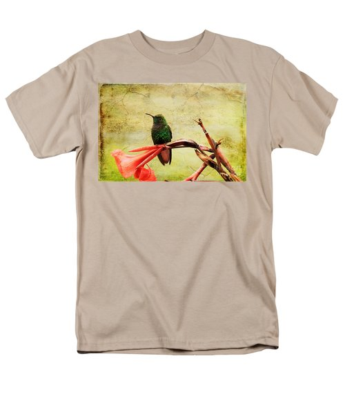 Hummingbird 1 Men's T-Shirt  (Regular Fit) by Teresa Zieba