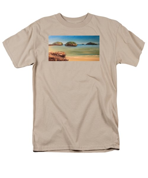 Hundred Islands In Philippines Men's T-Shirt  (Regular Fit) by Remegio Onia