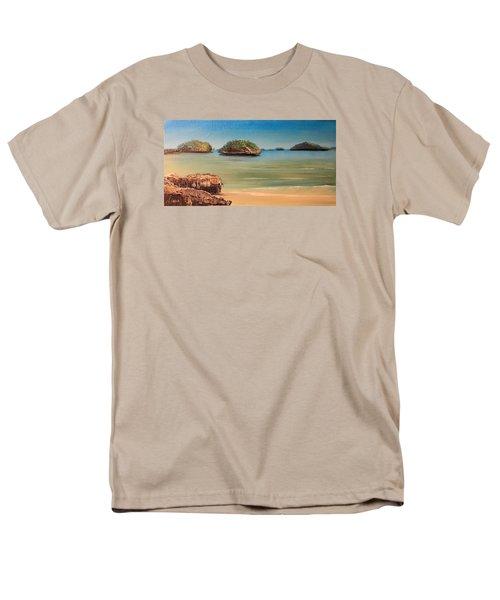 Hundred Islands In Philippines Men's T-Shirt  (Regular Fit)