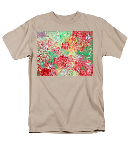 Men's T-Shirt  (Regular Fit) featuring the painting Hydrangeas II by Alys Caviness-Gober