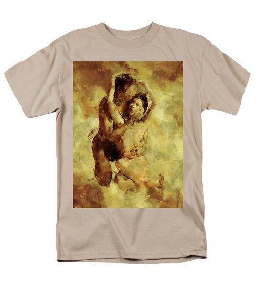 I Love You Men's T-Shirt  (Regular Fit) by Kurt Van Wagner