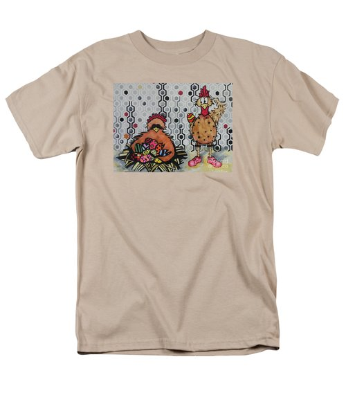 I Think I Am In Trouble Men's T-Shirt  (Regular Fit) by Chrisann Ellis