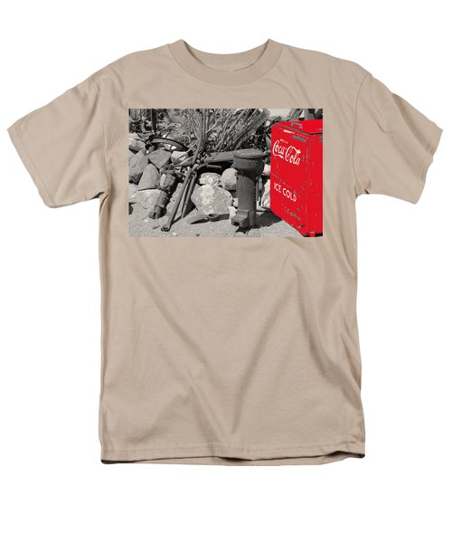 Ice Cold Drink Men's T-Shirt  (Regular Fit) by Leticia Latocki