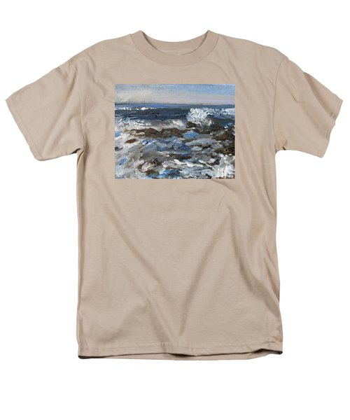 I'll Have A Water On The Rocks Please Men's T-Shirt  (Regular Fit) by Michael Helfen
