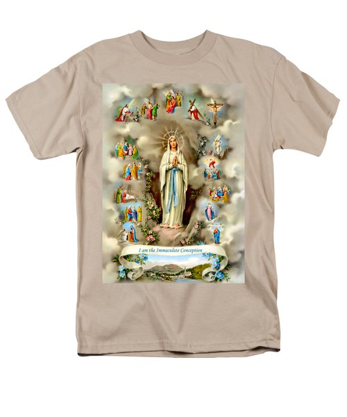 Immaculate Conception Men's T-Shirt  (Regular Fit) by Munir Alawi