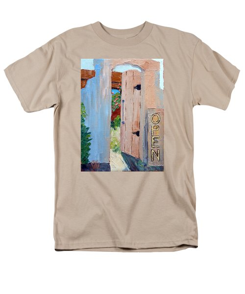 In Old Mesilla Nm Men's T-Shirt  (Regular Fit) by Susan Woodward