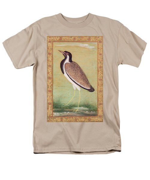 Indian Lapwing Men's T-Shirt  (Regular Fit) by Mansur