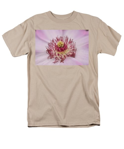 Men's T-Shirt  (Regular Fit) featuring the photograph Inside The Flower by Mike Martin