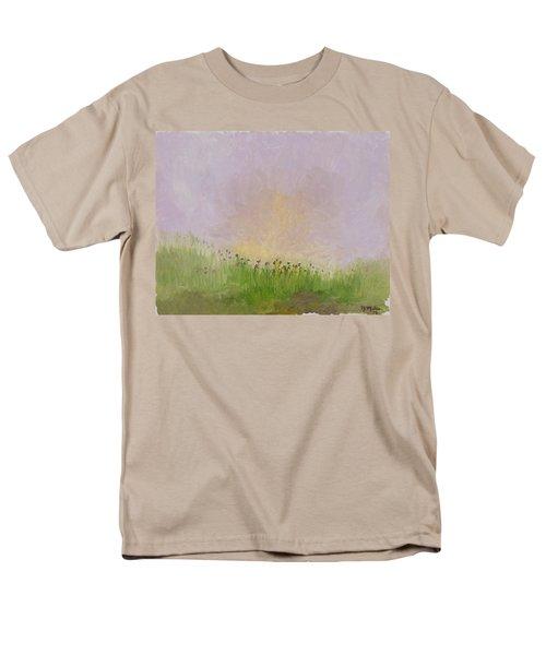 Iris Field Men's T-Shirt  (Regular Fit) by Mark Minier