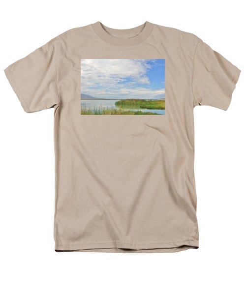 Island Peace Men's T-Shirt  (Regular Fit) by Marilyn Diaz