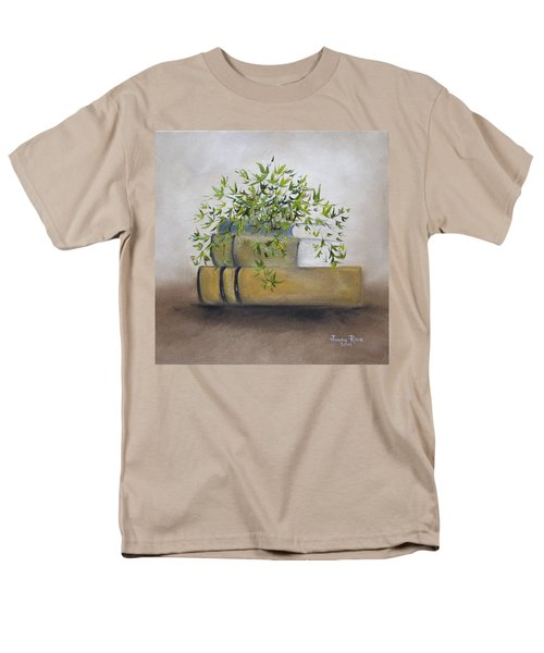 Men's T-Shirt  (Regular Fit) featuring the painting Ivy League by Judith Rhue
