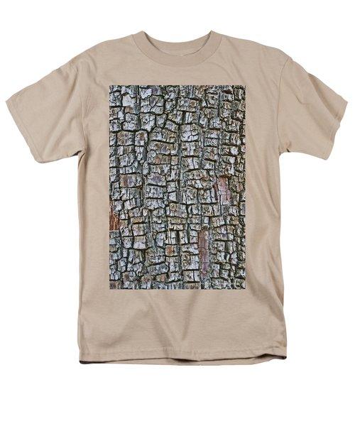 Juniper Bark- Texture Collection Men's T-Shirt  (Regular Fit) by Tom Janca