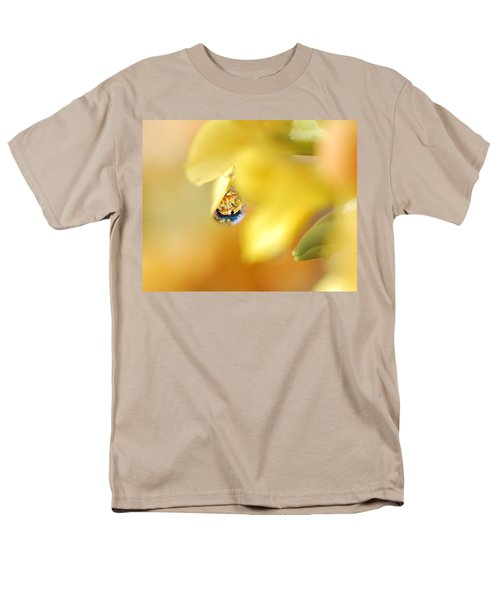 Just A Drop Of Spring Men's T-Shirt  (Regular Fit) by Susan Capuano