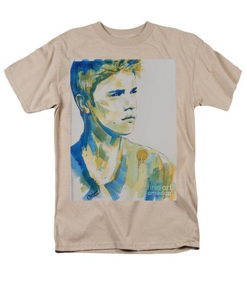 Justin Bieber Men's T-Shirt  (Regular Fit) by Chrisann Ellis