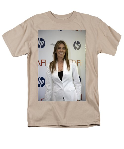 Kathryn Bigelow Men's T-Shirt  (Regular Fit) by Hugh Smith