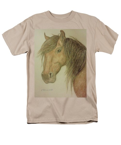 Kathy's Horse Men's T-Shirt  (Regular Fit) by Christy Saunders Church