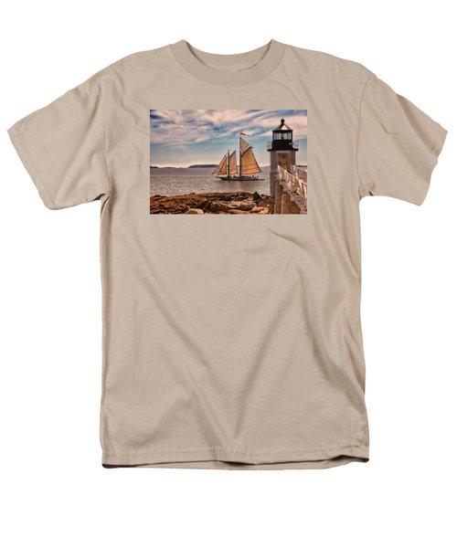 Keeping Vessels Safe Men's T-Shirt  (Regular Fit) by Karol Livote