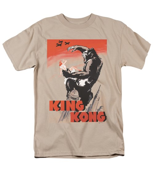 King Kong - Red Skies Of Doom Men's T-Shirt  (Regular Fit)