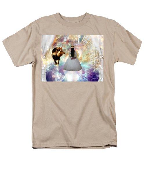 Kingdom Seer  Men's T-Shirt  (Regular Fit) by Dolores Develde