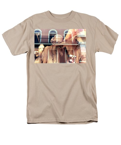 Men's T-Shirt  (Regular Fit) featuring the photograph Ladies Of The French Quarter by Nadalyn Larsen