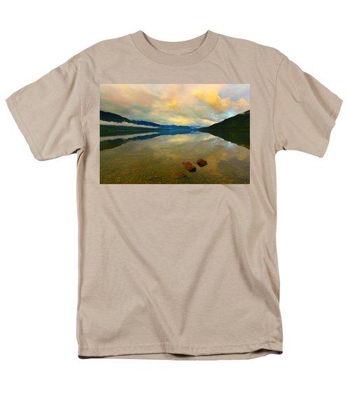 Lake Kaniere New Zealand Men's T-Shirt  (Regular Fit) by Amanda Stadther