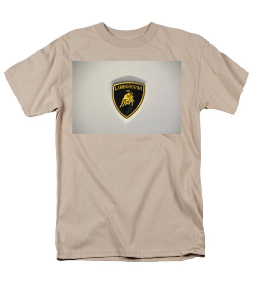 Lamborghini Badge Men's T-Shirt  (Regular Fit) by Mike Martin