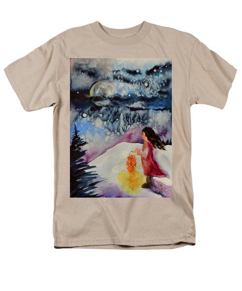 Lantern Festival Men's T-Shirt  (Regular Fit) by Beverley Harper Tinsley