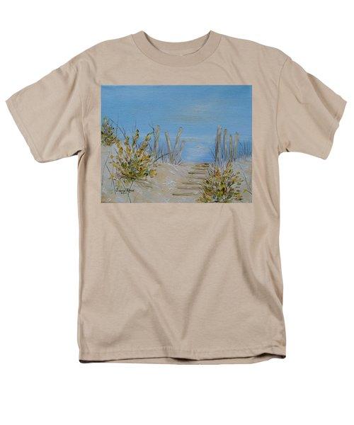 Men's T-Shirt  (Regular Fit) featuring the painting Lbi Peace by Judith Rhue