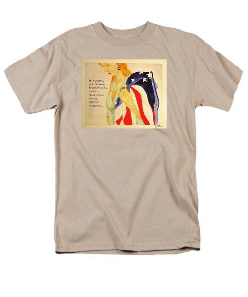 The Divorce Of Liberty Men's T-Shirt  (Regular Fit)