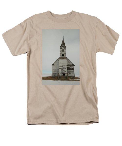 Like An Angel Boarded Up Men's T-Shirt  (Regular Fit) by Jeff Swan