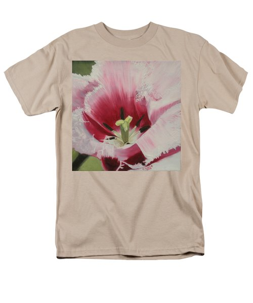 Lilicaea Tulipa Men's T-Shirt  (Regular Fit) by Claudia Goodell