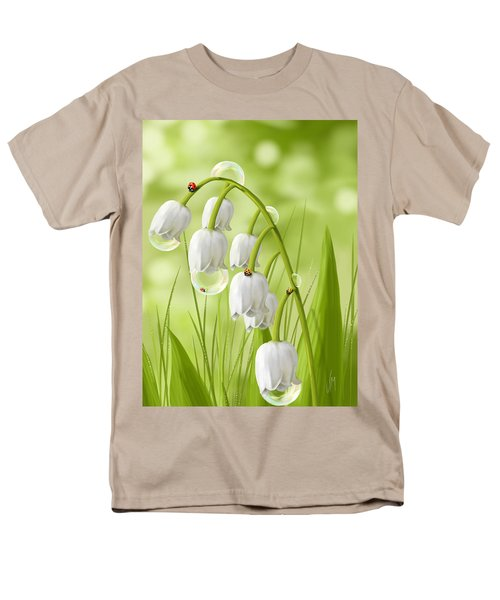 Lily Of The Valley Men's T-Shirt  (Regular Fit) by Veronica Minozzi