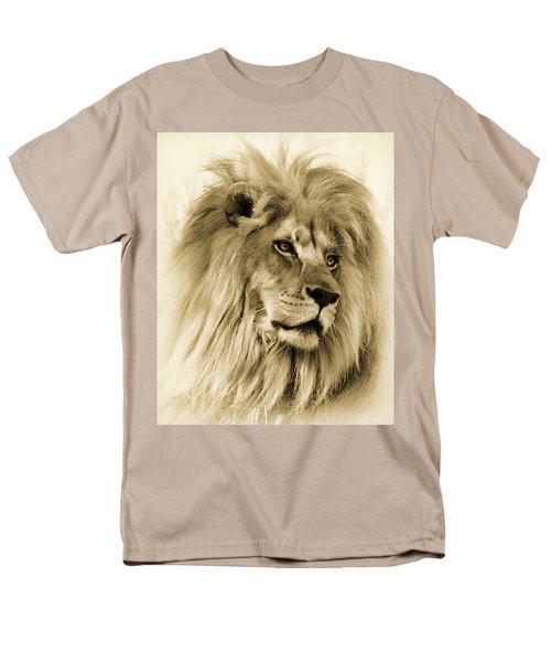 Lion Men's T-Shirt  (Regular Fit) by Swank Photography