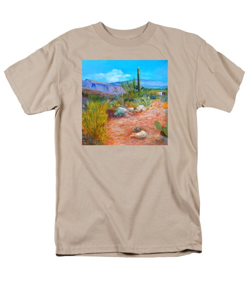 Men's T-Shirt  (Regular Fit) featuring the painting Lot For Sale 2 by M Diane Bonaparte