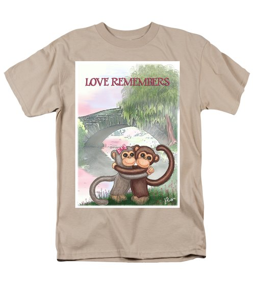 Love Remembers Men's T-Shirt  (Regular Fit) by Jerry Ruffin