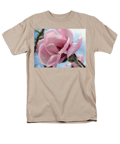 Magnolia In Spring Men's T-Shirt  (Regular Fit) by Jola Martysz