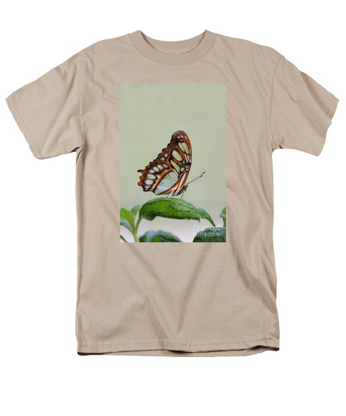 Men's T-Shirt  (Regular Fit) featuring the photograph Malachite Butterfly #5 by Judy Whitton