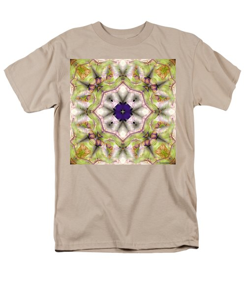 Men's T-Shirt  (Regular Fit) featuring the digital art Mandala 127 by Terry Reynoldson