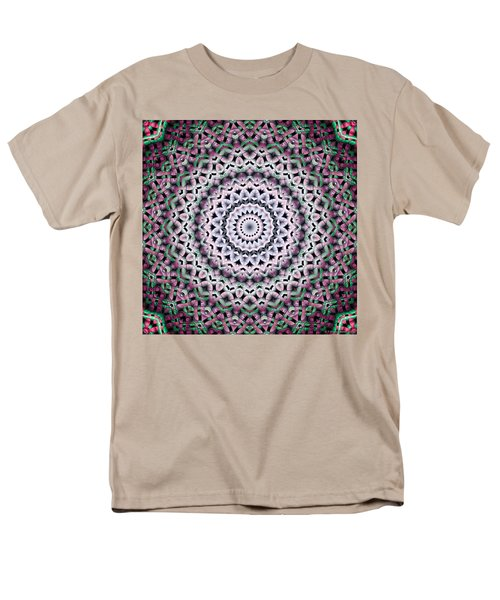 Men's T-Shirt  (Regular Fit) featuring the digital art Mandala 38 by Terry Reynoldson