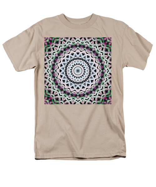 Men's T-Shirt  (Regular Fit) featuring the digital art Mandala 40 by Terry Reynoldson