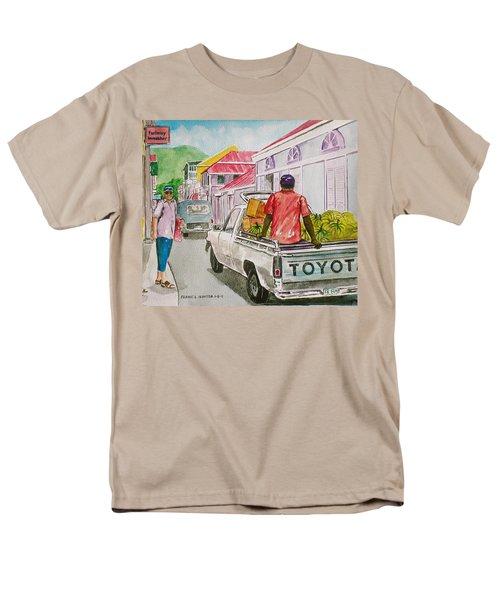 Marigot St. Martin Men's T-Shirt  (Regular Fit) by Frank Hunter