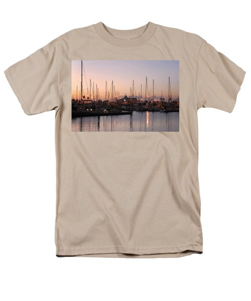 Marina Sunrise 12 Men's T-Shirt  (Regular Fit) by Leticia Latocki